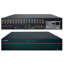 3xLOGIC VIGIL V250 Hybrid NVR comes standard with a 2TB hard drive, and VIGIL Server and Client software