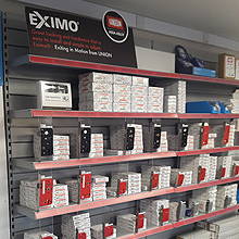 The trade counter also stocks UNION's Optimus3 and 2C2 lock cases and J1000 furniture
