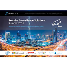 The Promise partner ecosystem is a vitally important piece of our strategy in the surveillance market