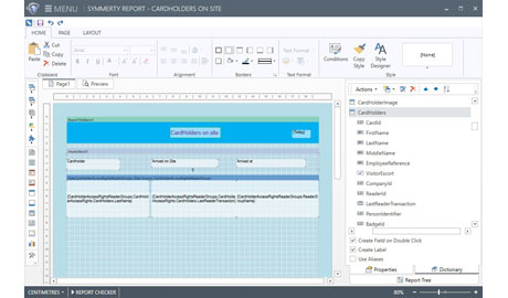 Symmetry Advanced Reporting allows analysis on identified anomalies from scouring security data and creates compliance reports
