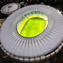 This network also covers stadiums in the cities of Brasília, São Paulo, Salvador, Belo Horizonte and Manaus where football matches are taking place as part of the Olympics
