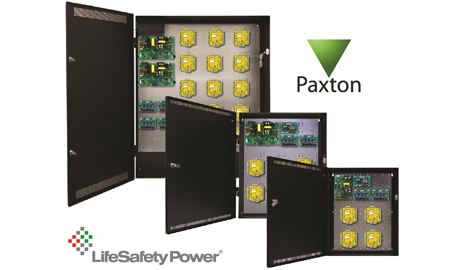 The FlexPower PCLASS Paxton Access Control Power System is engineered to integrate operating power and a mechanical housing for Paxton AccessNet2 controller hardware