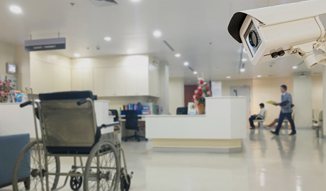 Facial recognition on the cameras can identify anyone in the database who had a warrant against them or have been banned from coming into the hospital