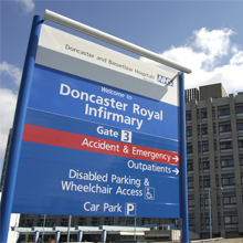 A South Yorkshire District General Hospital has been supplied with a range of hardware by ASSA ABLOY Security Solutions
