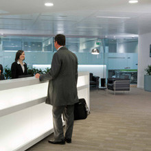 ASSA ABLOY Aperio wireless locking solution enables an aesthetically pleasing, safe and secure environment