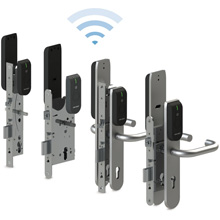 Aperio L100 lock provides the highest levels of physical protection and transmits comprehensive information on door status to the access control system