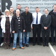 The visit was jointly organised by UK based Skills for Security and the Danish Institute of Fire & Security (DBI)