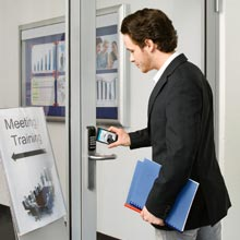 Aperio wireless products offer an affordable way to integrate mechanical doors into an access control system