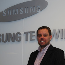 Dominic Jones has been appointed European Marketing Manager of Samsung Techwin Europe