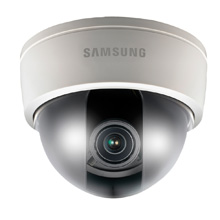 The cameras include a discreet, compact box camera; a fixed-lens dome camera; and a vari-focal network dome