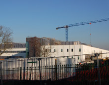 Stobhill Hospital in Glasgow - the new hospitals will open officially in summer 2009