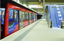 Woolwich Arsenal Docklands Light Railway Station