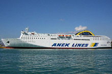 ANEK Lines Ferries' new state-of-the-art ship 'Elyros'