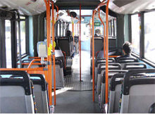 The AXIS 209FD-R is installed on EST Buses in South Wales