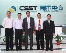 Executives from HDcctv Alliance and China Security & Surveillance Technology
