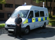 The state-of-the-art TSS solution is integrated into a high visibility Mercedes Sprinter van operated by Safer Swansea