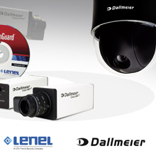 The Dallmeier IP cameras stand out due to their excellent picture quality