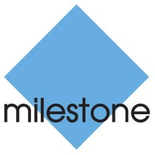 Milestone Systems logo; Milestone systems is the open platform company in IP video management software