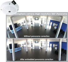 The new Mobotix Q24M hemispheric camera