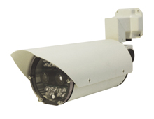 Both the ANPR and Overview Cameras feature an extruded aluminium housing; are weatherproofed to IP66, and incorporate an integral LED array which is 850nm pulse synchronised with the camera