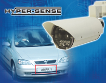 Dedicated Micros launches ANPR optimised camera solutions featuring Hypersense Technology at IIPSEC 2009