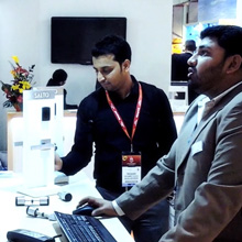Many architects, security specifiers and end users were keen to discover the latest innovations in the world of access control