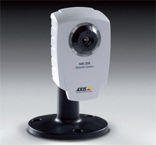 Axis 206 network camera is in use at Favco premises
