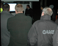 Low light CCTV systems at a special night time test and seminar event