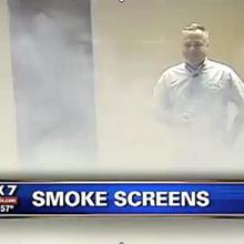 Smoke Screens have met with great success when deployed in violent armed raid scenarios