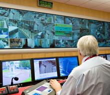 Wigan Council's CCTV monitoring suite