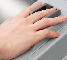 Finger vein biometrics in AEOS