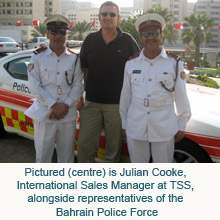 The order from the Bahrain Police Force underlines TSS's growing presence in the Middle East region