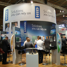 HID Global stand at IFSEC 2009