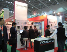 Rosslare displayed exciting security products at SecuTech Expo 2009