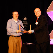 Digital Surveillance Solutions received the Partner of the Year award from Milestone