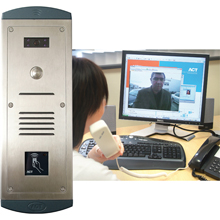 ACTentry V-IP audio video over IP door entry system