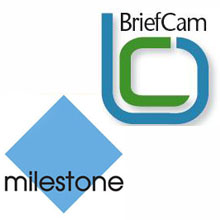 BriefCam, video synopsis and surveillance cameras, and Milestone Systems, IP management software