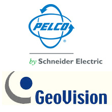 GeoVision software supports Pelco IP cameras