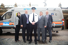 Sony IP cameras used on Westminster police first mobile CCTV unit