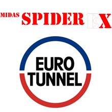 Eurotunnel regular customer of QED for SpiderEx