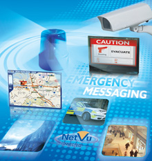 Dedicated Micros' Emergency Messaging and Mass Notification System offers the police, authorities and other users, a two-way communication system