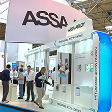 ASSA ABLOY presented with award-winning technology from HID Global, ASSA ABLOY, and ASSA ABLOY group companies Yale, Mul-T-Lock, Abloy,Traka and effeff