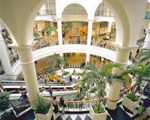 Shopping centre migrates to digital CCTV with IndigoVision IP video