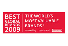 Business Week's 100 Best Global Brands 2009, an annual ranking of the world's top 100 companies