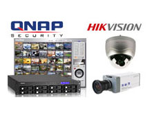 Hikvision network cameras are supported by QNAP VioStor series network video recorders (NVR)