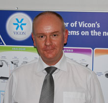 Richard Allen-Miles, UK Sales Director for Vicon