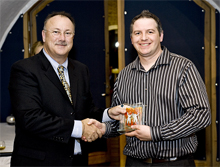 IP Surveillance and Enterprise Management Specialists SMTechnology attended the Milestone Integration Platform Symposium 2008 and were awarded with the prestigious 'UK Partner of the Year' Award