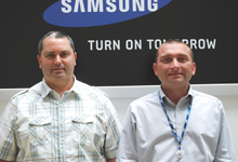 Two veterans join Samsung's CCTV team as technical engineers