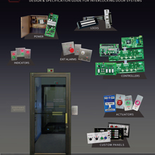 The new electronic brochures offers reference to the company's door interlock and mantrap control capabilities