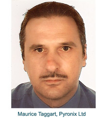 Maurice Taggart, the new dedicated Account Manager for N. Ireland and the Republic of Ireland at Pyronix Ltd